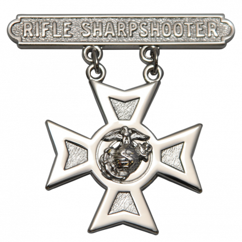 Sharpshooter Rifle Badge USMC