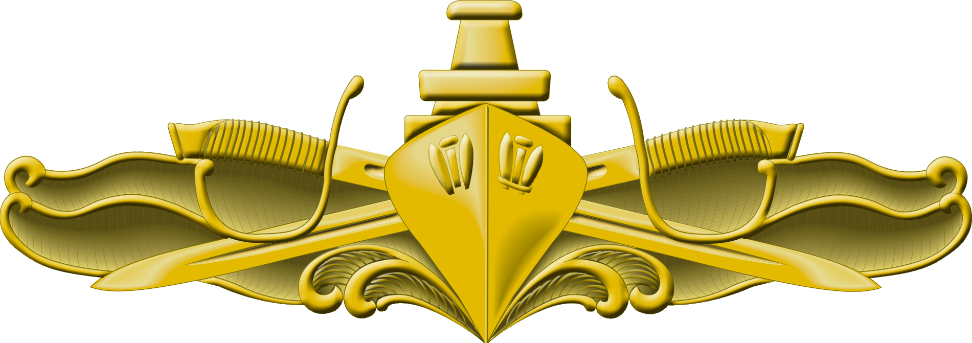 Navy Surface Warfare Officer Pin