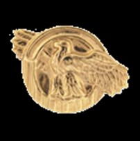 Honorable Discharge Pin Ruptured Duck