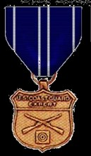 Marksman Rifle Medal Coast Guard