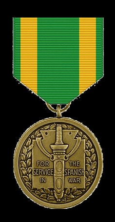 Spanish War Service Medal