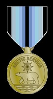 Arctic Service Medal US Coast Guard