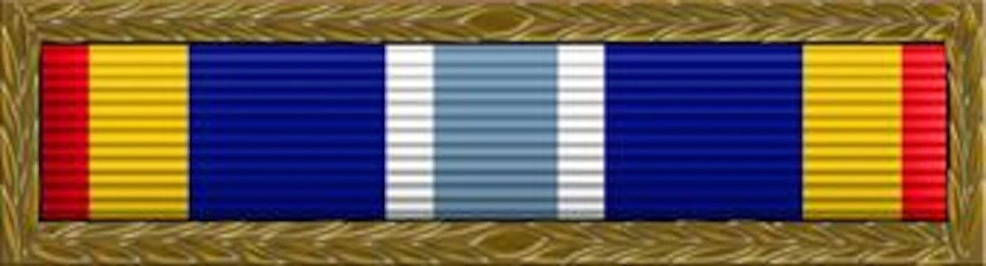 Air Force Expeditionary Service Ribbon with Gold Border